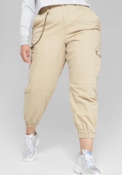 Twill Utility Cargo Pants