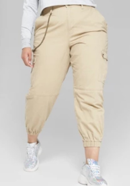 Twill Utility Cargo Pants
