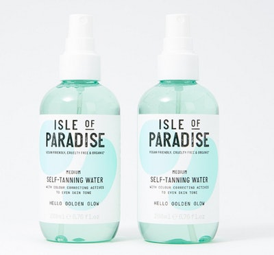 Isle of Paradise Self-Tanning Water Duo