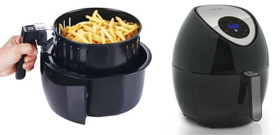 Della Portable Electric Air Fryer Temperature LED Touch Display