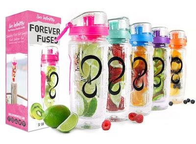 Live Infinitely Forever Fuses Infuser Water Bottles