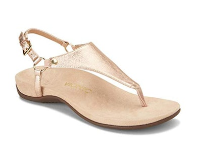 Vionic Women's Rest Kirra Backstrap Sandal with Concealed Orthotic Arch Support