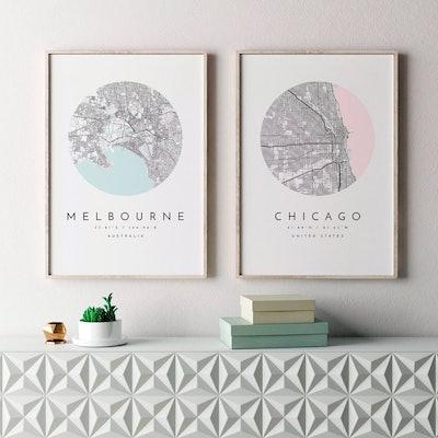 City Map Print