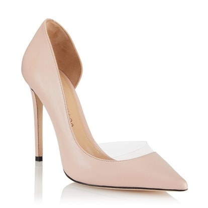 Siren Nappa Leather-Heeled Pumps