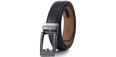 Marino Genuine Leather Ratchet Dress Belt
