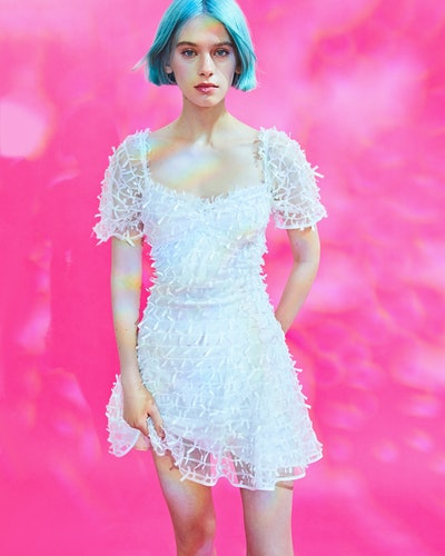 Betsey Johnson UO Exclusive Allover Bow Mini Dress