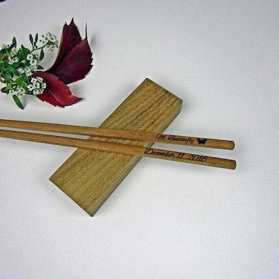 Engraved Chopsticks