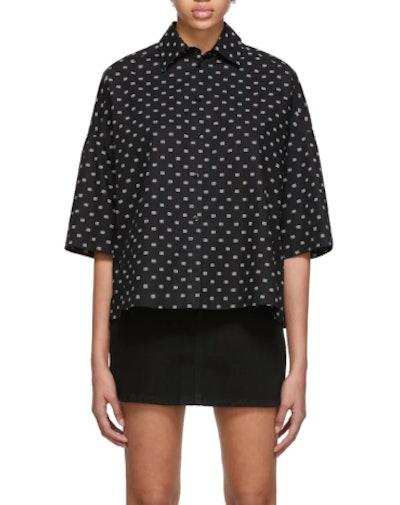 Black BB Vareuse Short Sleeve Shirt