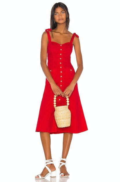 Song of Style Maya Midi Dress