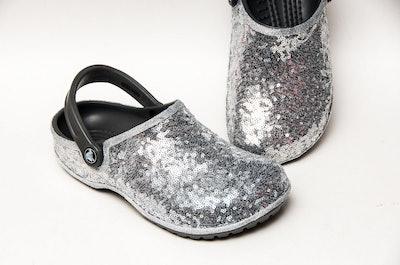 Starlight Sterling Silver Cayman Slip On Clogs