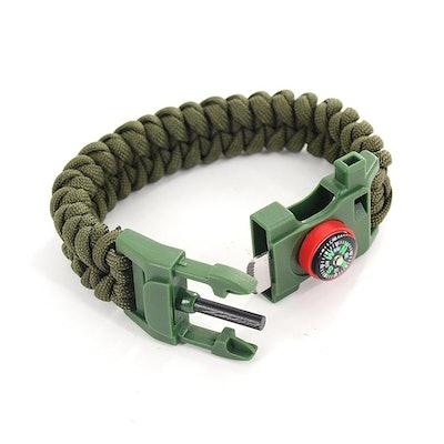 DEW Survival Kit Multifunction Bracelet