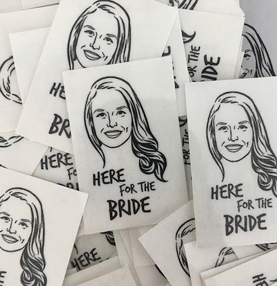 Personalized Bat Mitzvah Temporary Tattoos