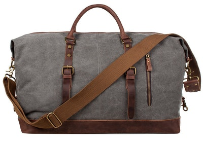 S-Zone Canvas Overnight Carryon Bag