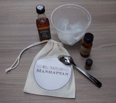 Well Travelled Manhattan // DIY Cocktail Kit