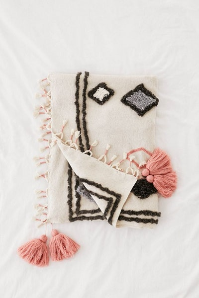 Diamond Tufted Throw Blanket