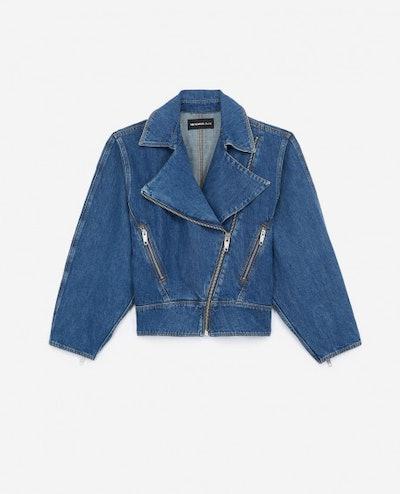 Retro Blue Denim Jacket