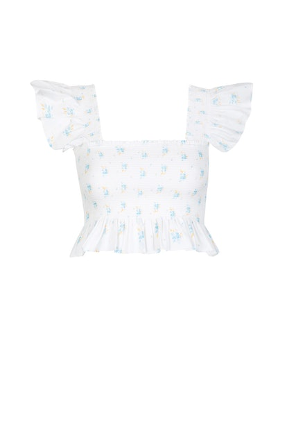 Romy Frill Crop Top