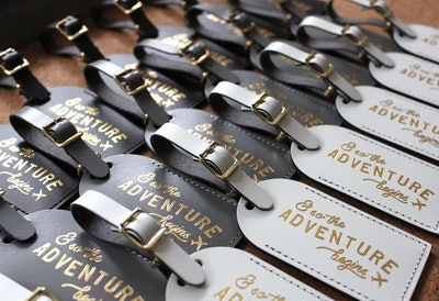 Bulk Wedding Favors Luggage Tags