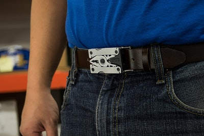 Wearable Belt Buckle Multi-Tool