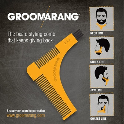 Groomarang Beard Styling and Shaping Comb