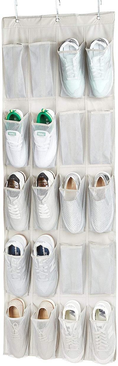 AmazonBasics Over-The-Door Shoe Organizer