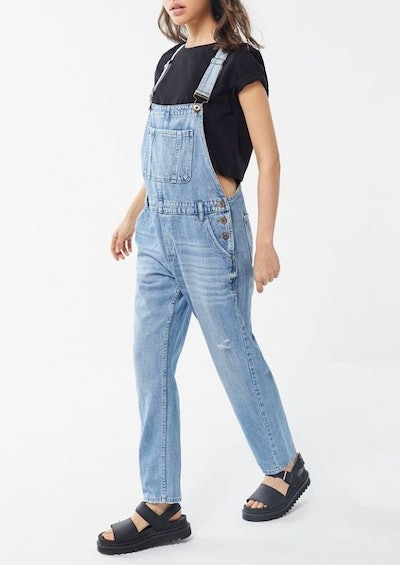 Pistola Bailey Distressed Denim Overall