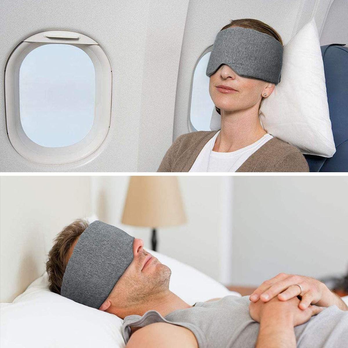 Handmade Cotton Blackout Sleep Mask