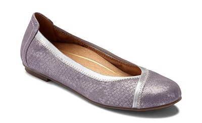 Vionic Spark Caroll Ballet Flat With Orthotic Arch Support