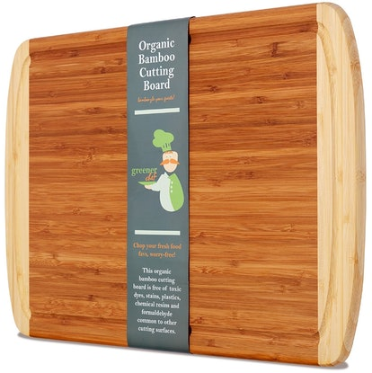 Greener Chef Organic Bamboo Cutting Board