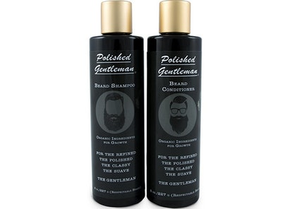 Polished Gentleman Beard Growth Shampoo Set