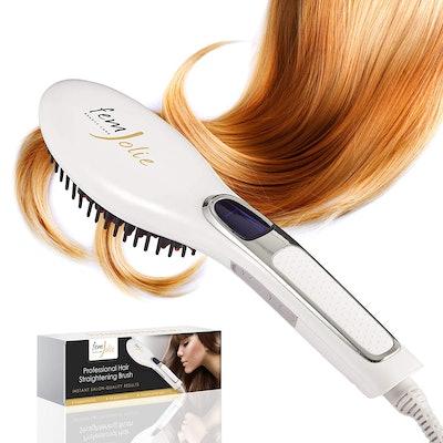 FemJolie Hair Straightening Brush
