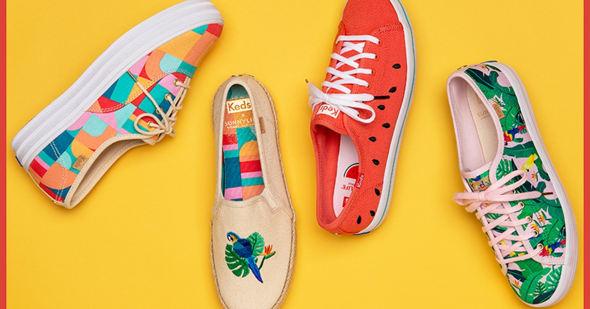 This Keds x SunnyLife Collaboration Is Summer In Footwear Form
