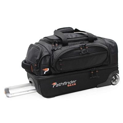 Pathfinder Gear 22-Inch Rolling Drop Bottom Duffel