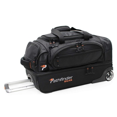 Pathfinder Gear 22-Inch Rolling Drop Bottom Duffel