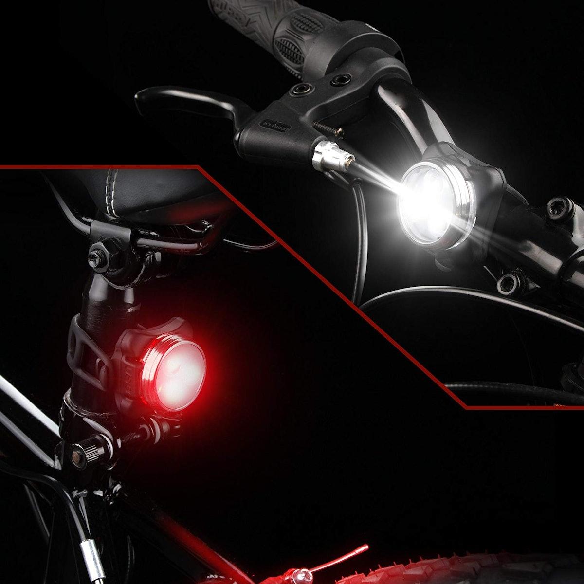 Ascher USB Rechargeable Bike Light Set (Set Of 2)