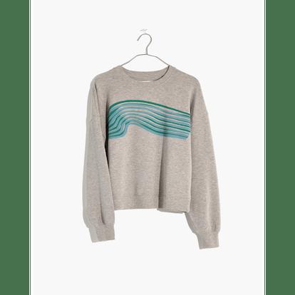 Madewell x Outdoor Voices Crop Sweatshirt