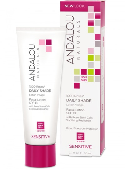 Andalou Naturals - Rose Stem Cells Daily Shade Facial Lotion SPF 18