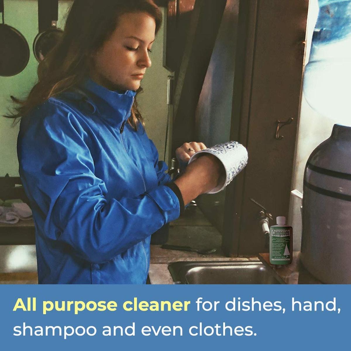 Sierra Dawn Campsuds Multipurpose Outdoor Soap