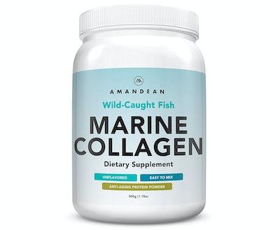 AMANDEAN Wild-Caught Fish Marine Collagen, 17.6 Oz