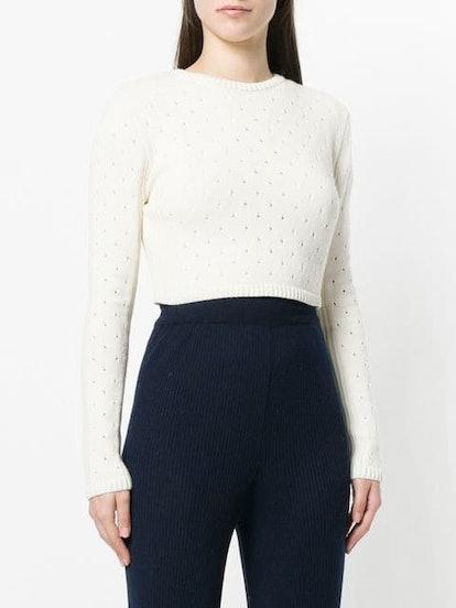 Britta Cropped Sweater