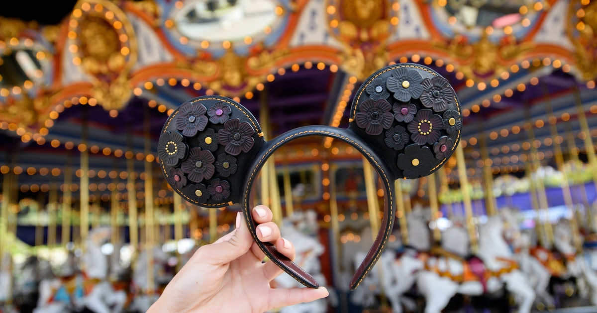Where To Buy Disney's Designer Collection Minnie & Mickey Ears Because They Are SO Luxe
