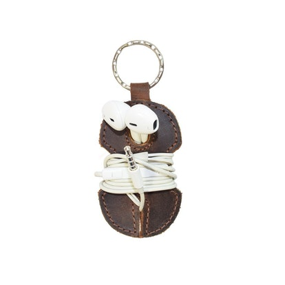 Hide & Drink Rustic Leather Key Chain