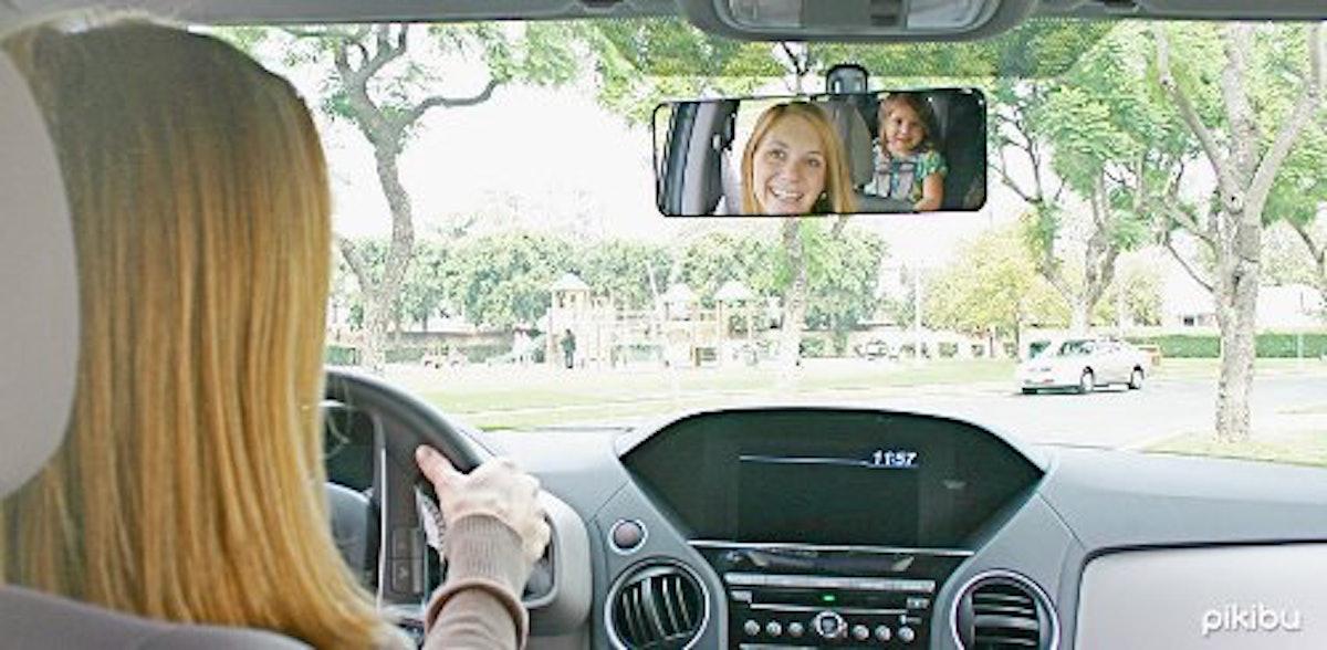 Pikibu 180-Degree Rearview Mirror