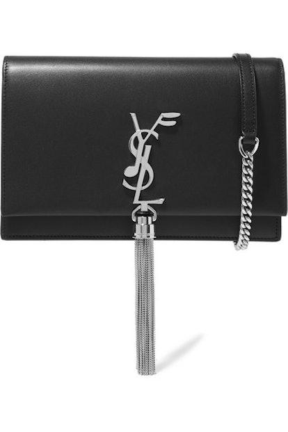 Saint Laurent Kate Small Leather Shoulder Bag