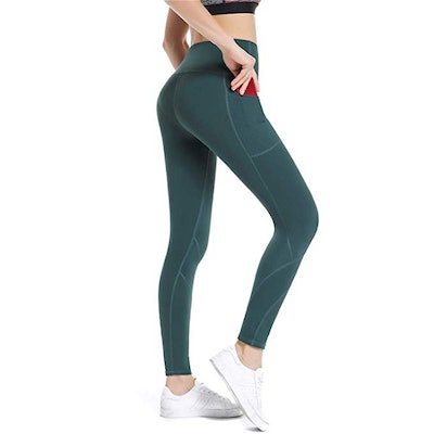 ALONG FIT Yoga Pants With Pockets (Sizes XS-XXL)