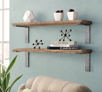 Orlando Industrial Accent Shelves
