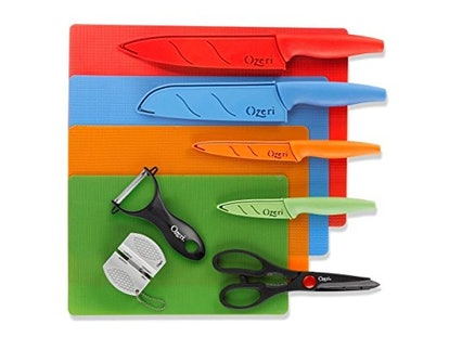 Ozeri Elite Chef 15-Piece Stainless Steel Knife Set
