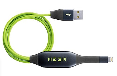 MEEM Memory iPhone Charger