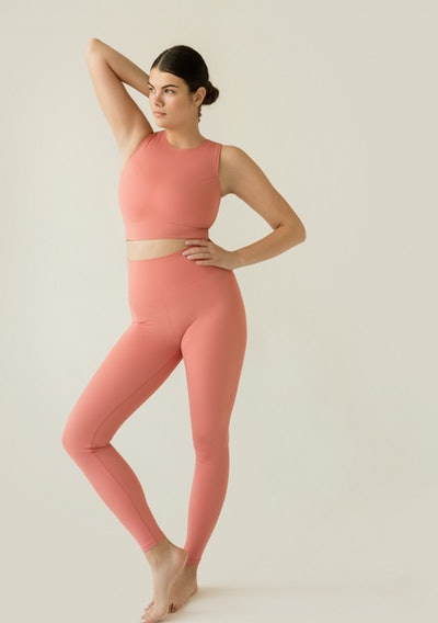 Sustainable Leggings Coral