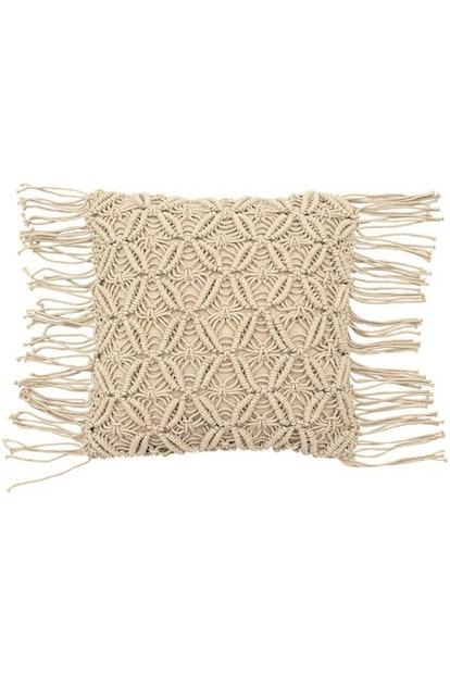 Avery Macrame Pillow